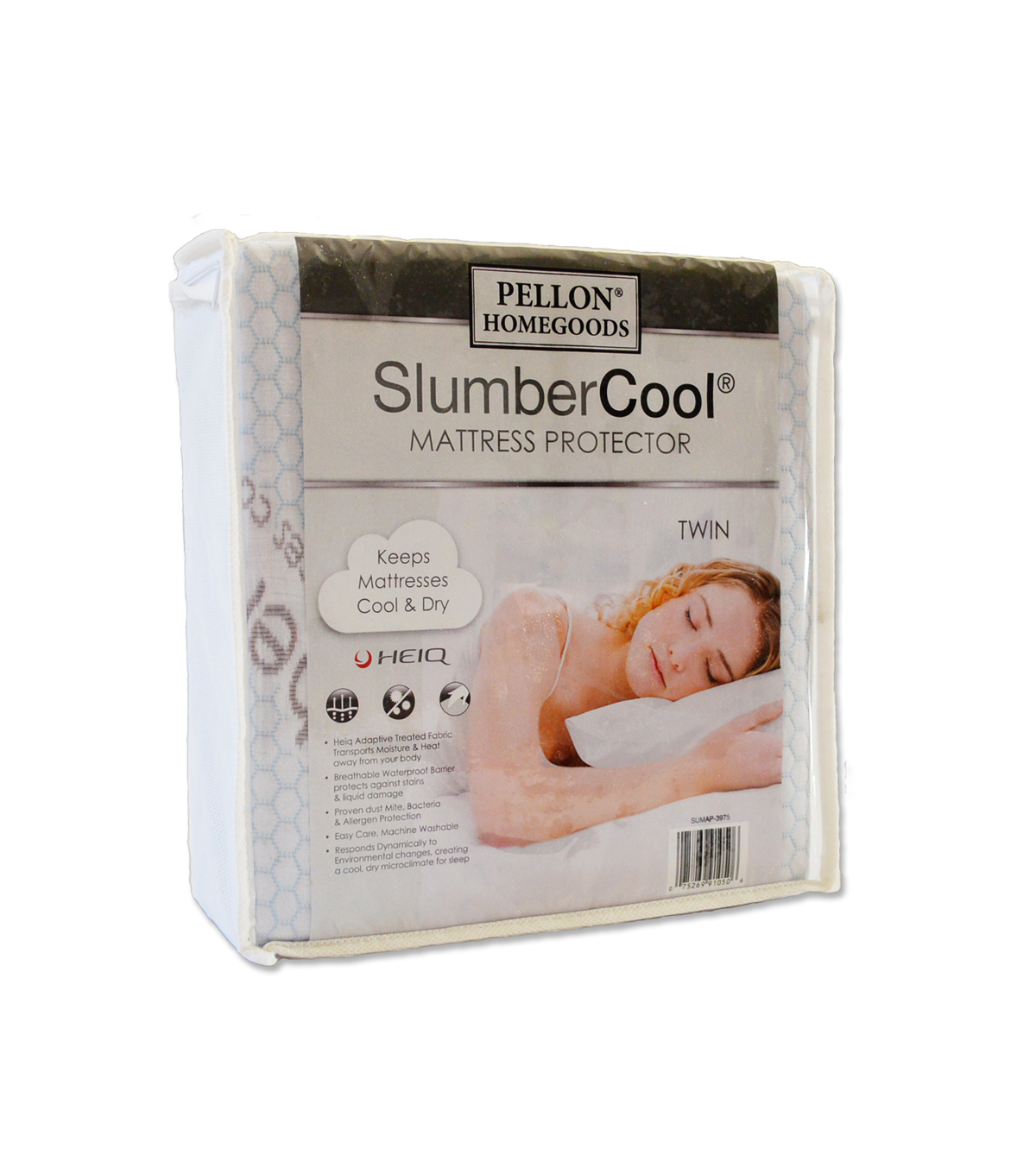 "Pellon® Slumber Cool Mattress Protector Twin 39"" X 75"""