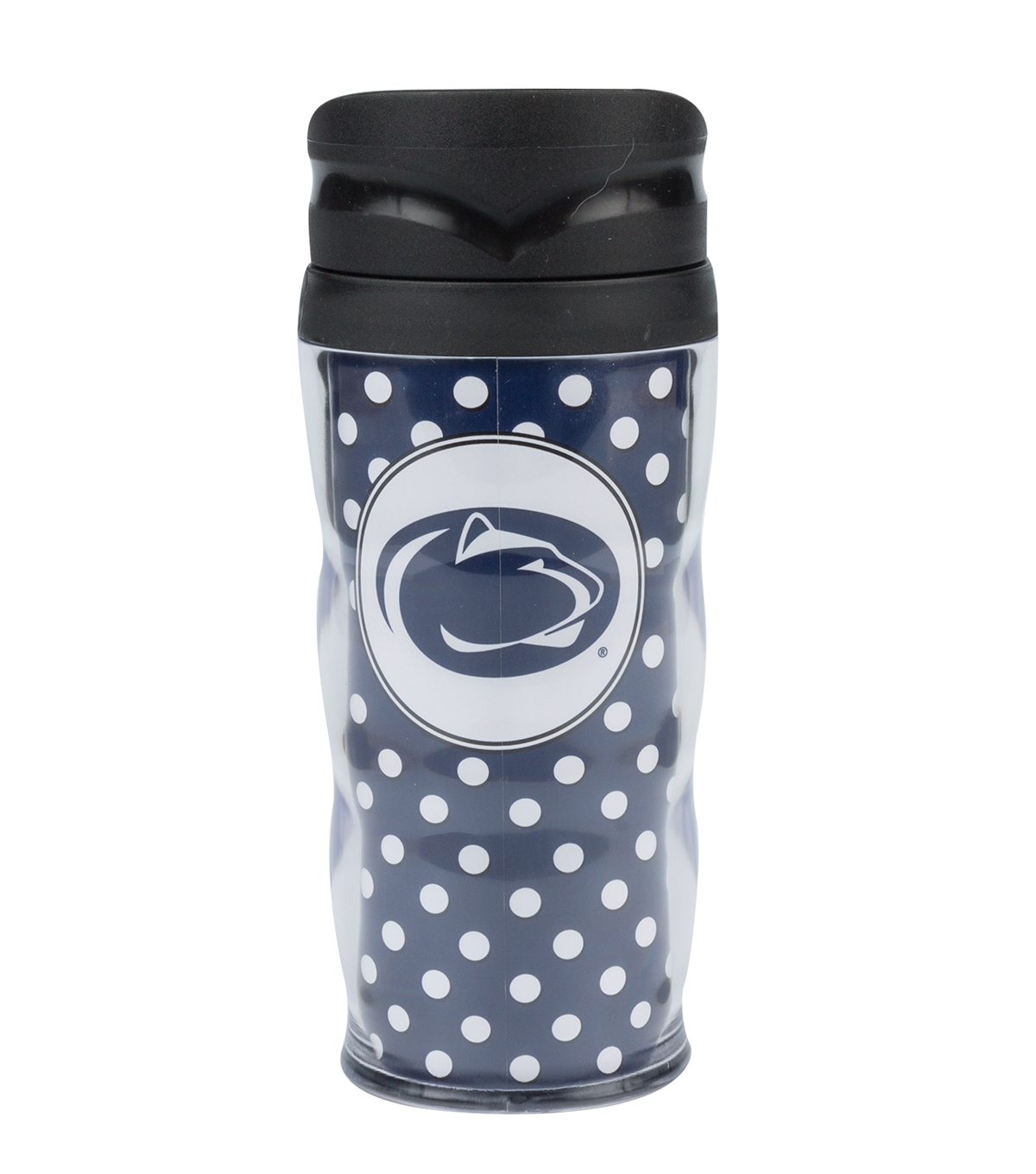 Penn State University Polka Dot Travel Mug