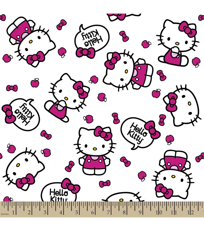 Sanrio Hello Kitty Print Fabric-Quote | JOANN
