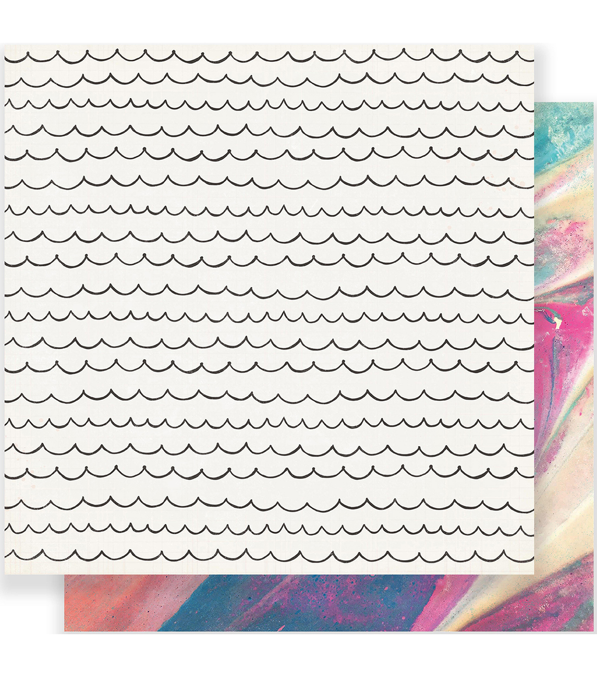 Maggie Holmes Carousel Double-Sided Cardstock 12\u0022X12\u0022-Cotton Candy