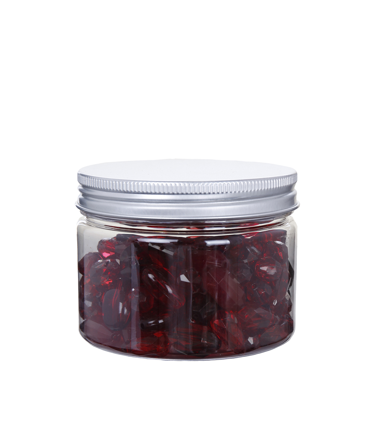 hildie & jo™ 4.58 oz. Assorted Fashion Beads in Plastic Jar-Red