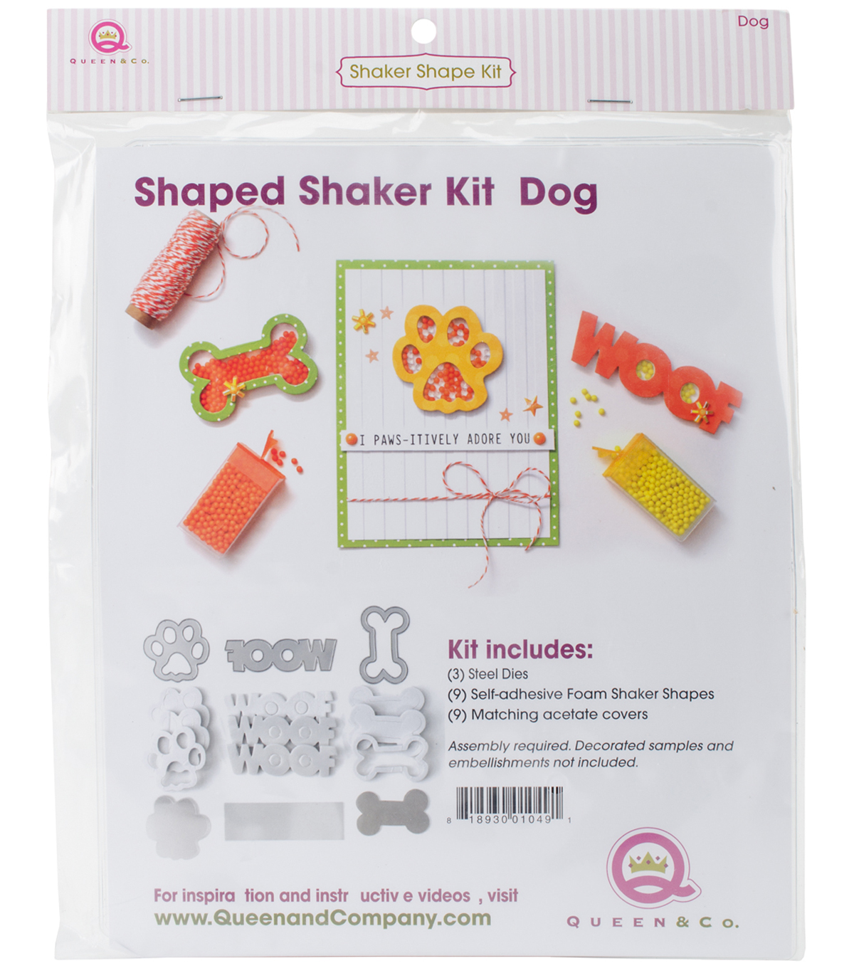 Queen & Company Shaker Shape Kit-Dog
