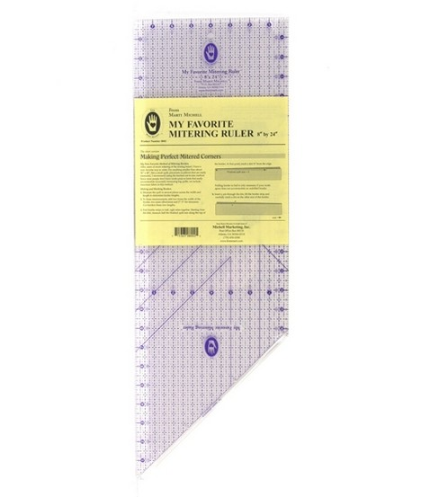 My Favorite Mitering Ruler 8 X24