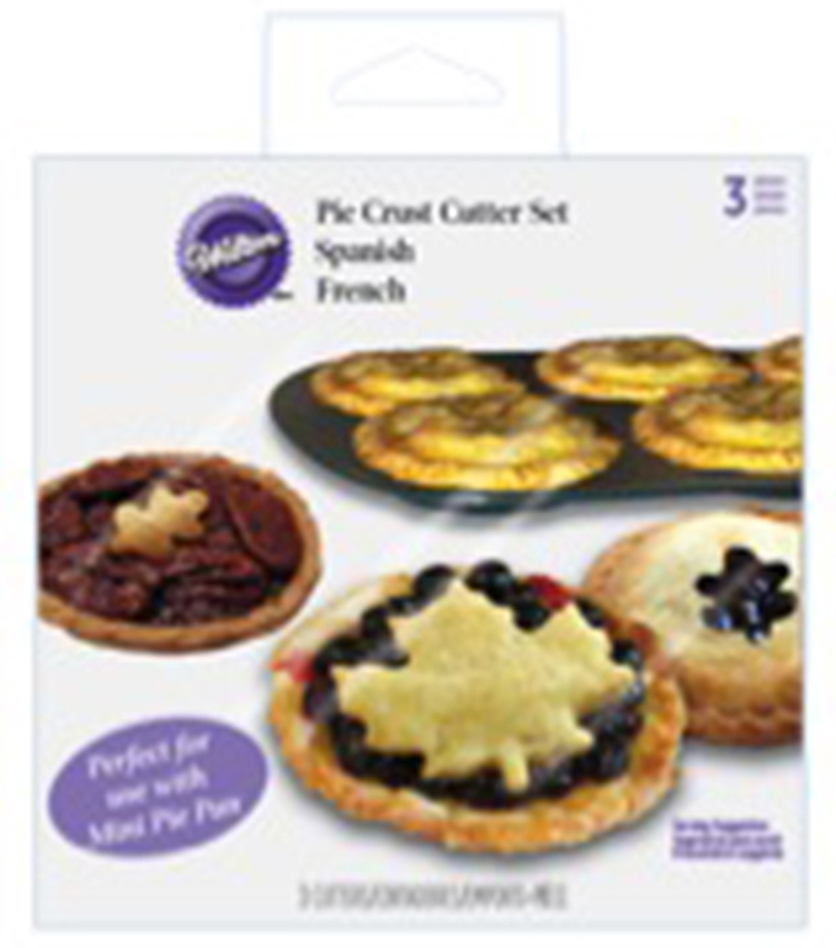 Wilton® Mini Pie Dough Cutter Set-Autumn