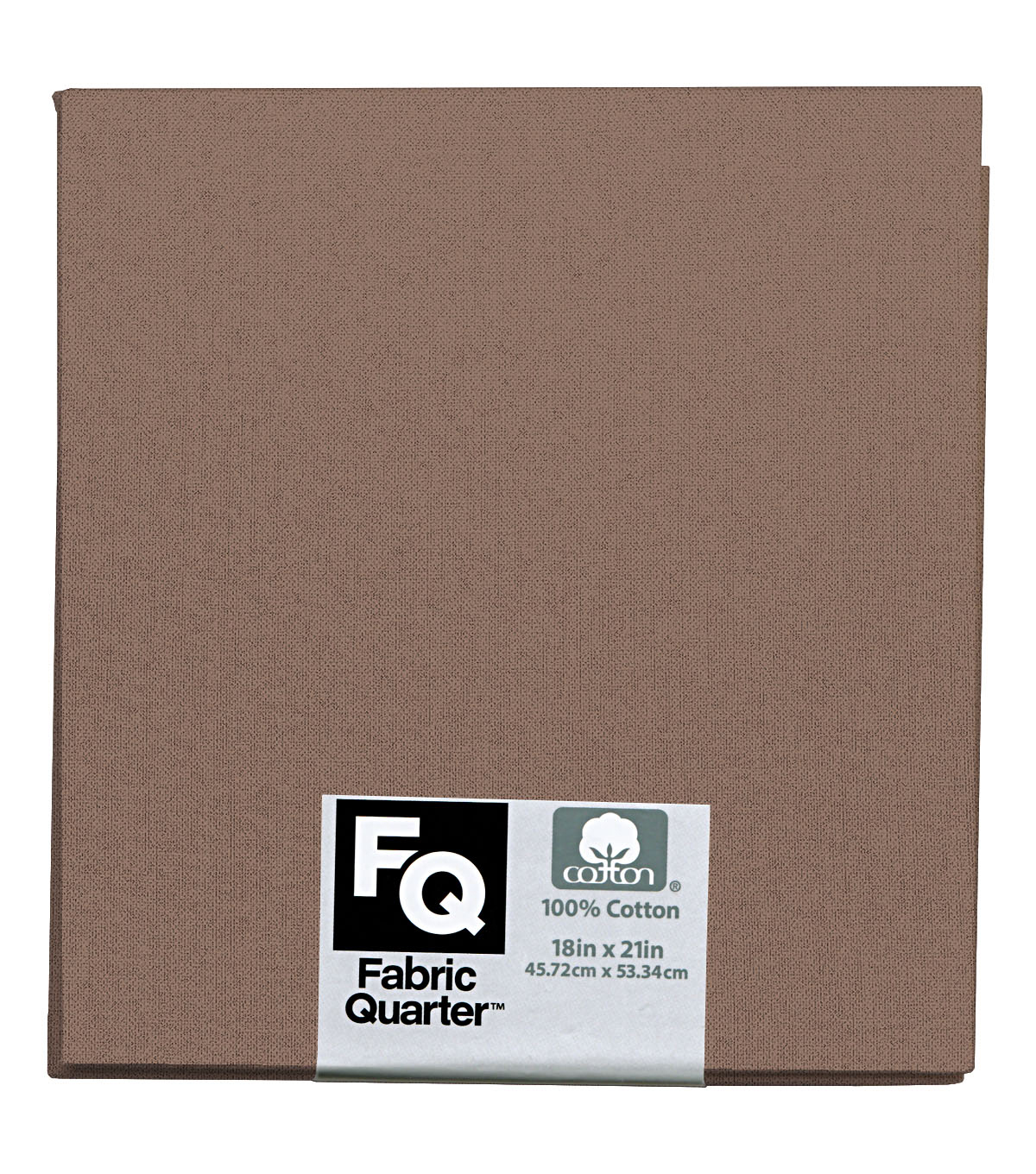 Fabric-Quarters Cotton Fabric-Solids Taupe