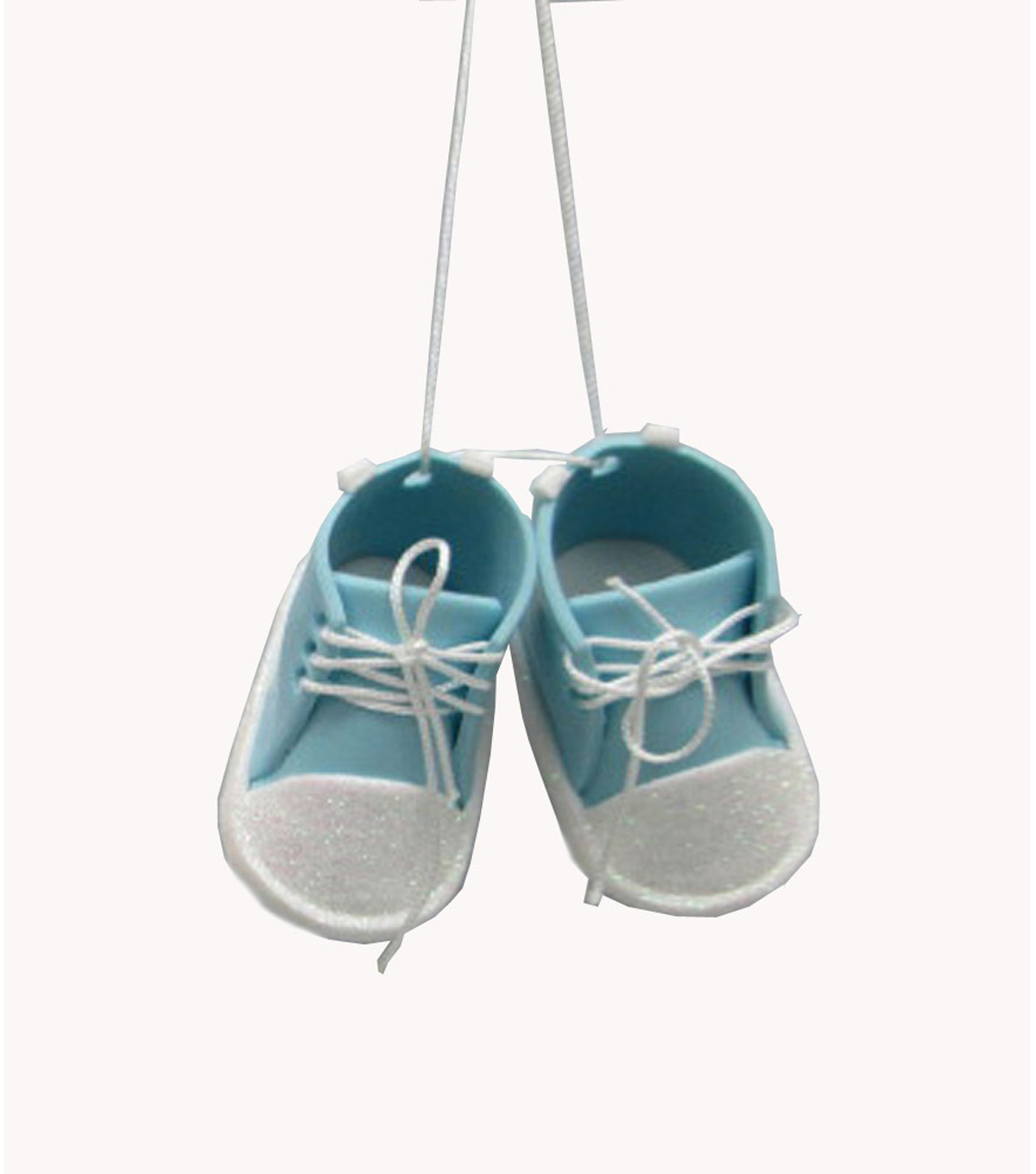 Maker\u0027s Holiday Baby Boy Booties Ornament
