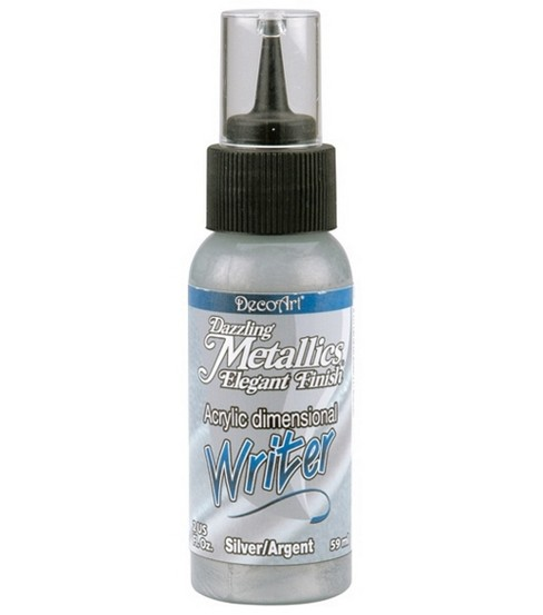DecoArt Acrylic Paint Writers 2oz-Gold