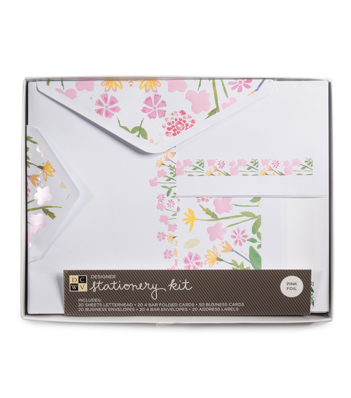 DCWV Stationery Kit: Floral