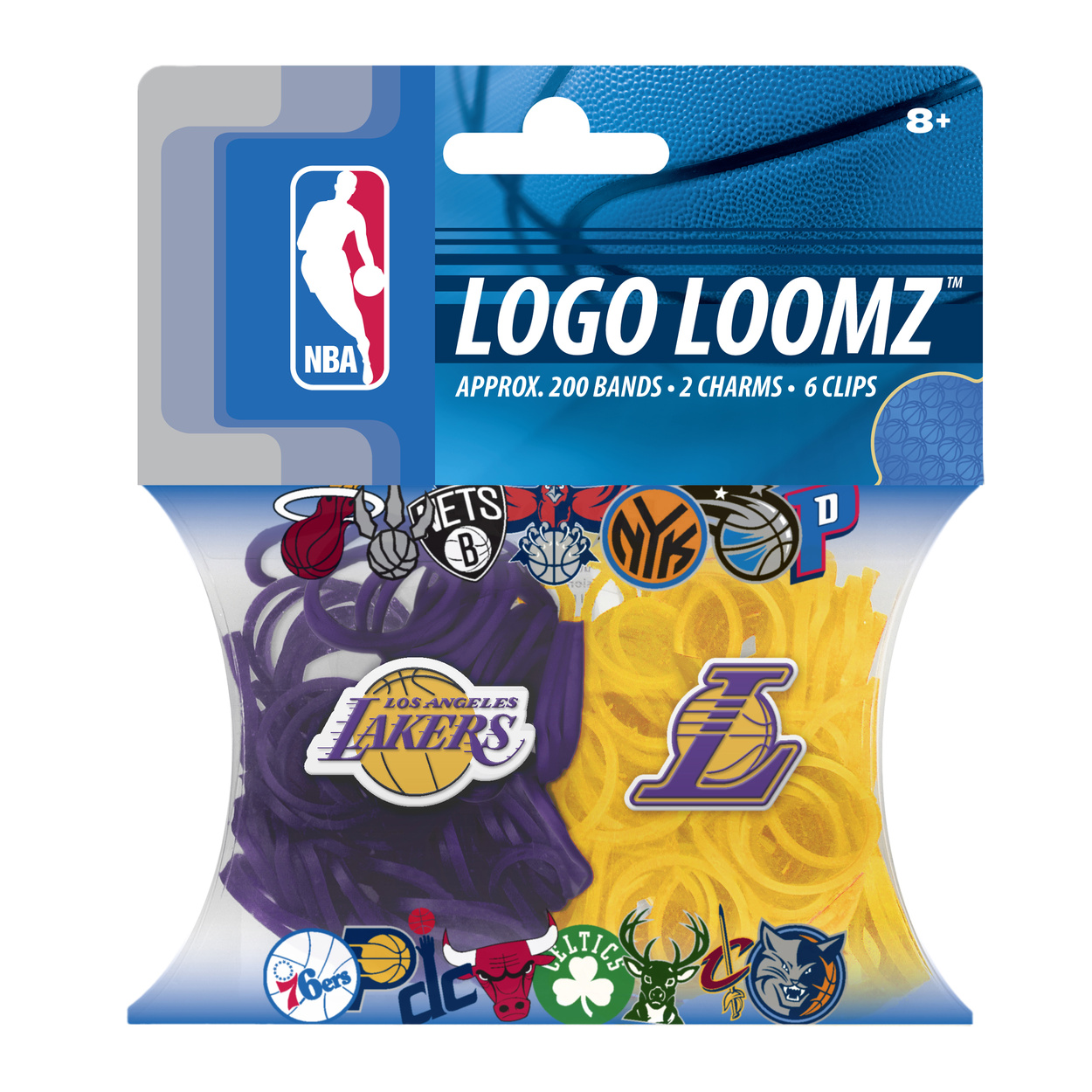 Los Angeles Lakers Logo Loomz Filler Pack by Forever Collectibles