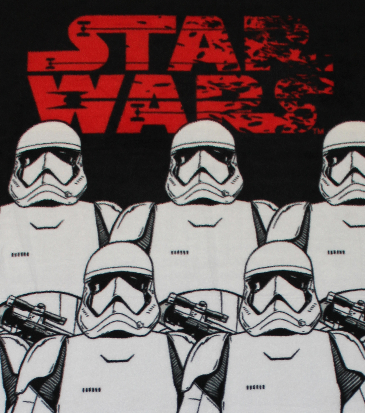 Star Wars™ VIII No Sew Fleece Throw 48\u0022-The Last Jedi Stromtroopers