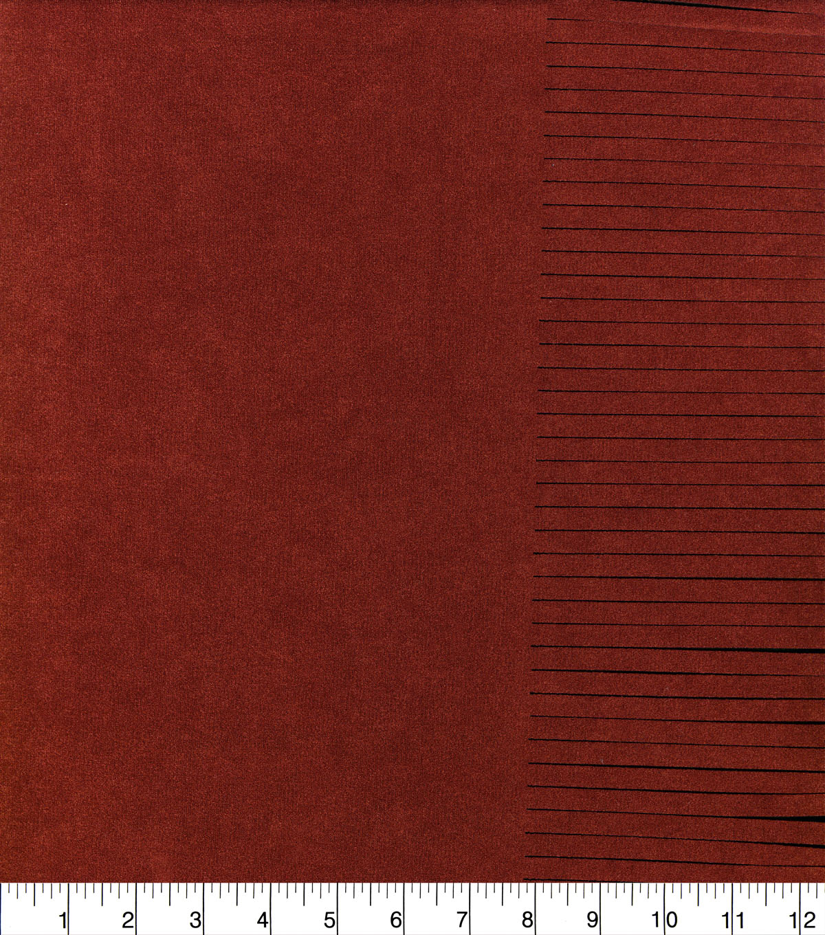 Archer Fabric Collection-Fringe Suedecloth Ketchup Red