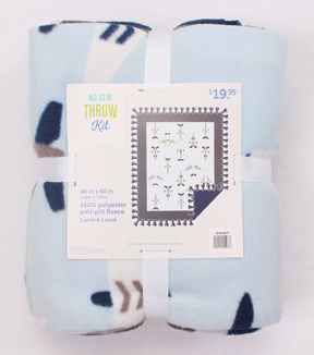 48\u0022 No Sew Fleece Throw- Planes Panel