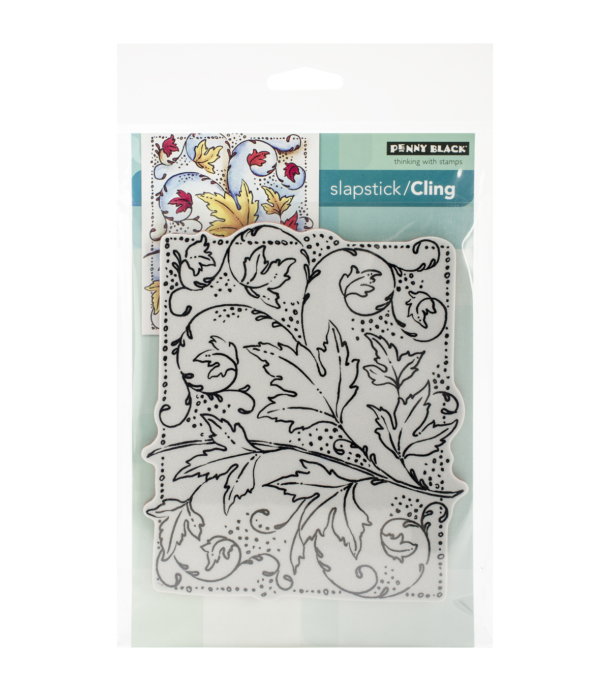 Penny Black Autumn Dance Cling Rubber Stamp