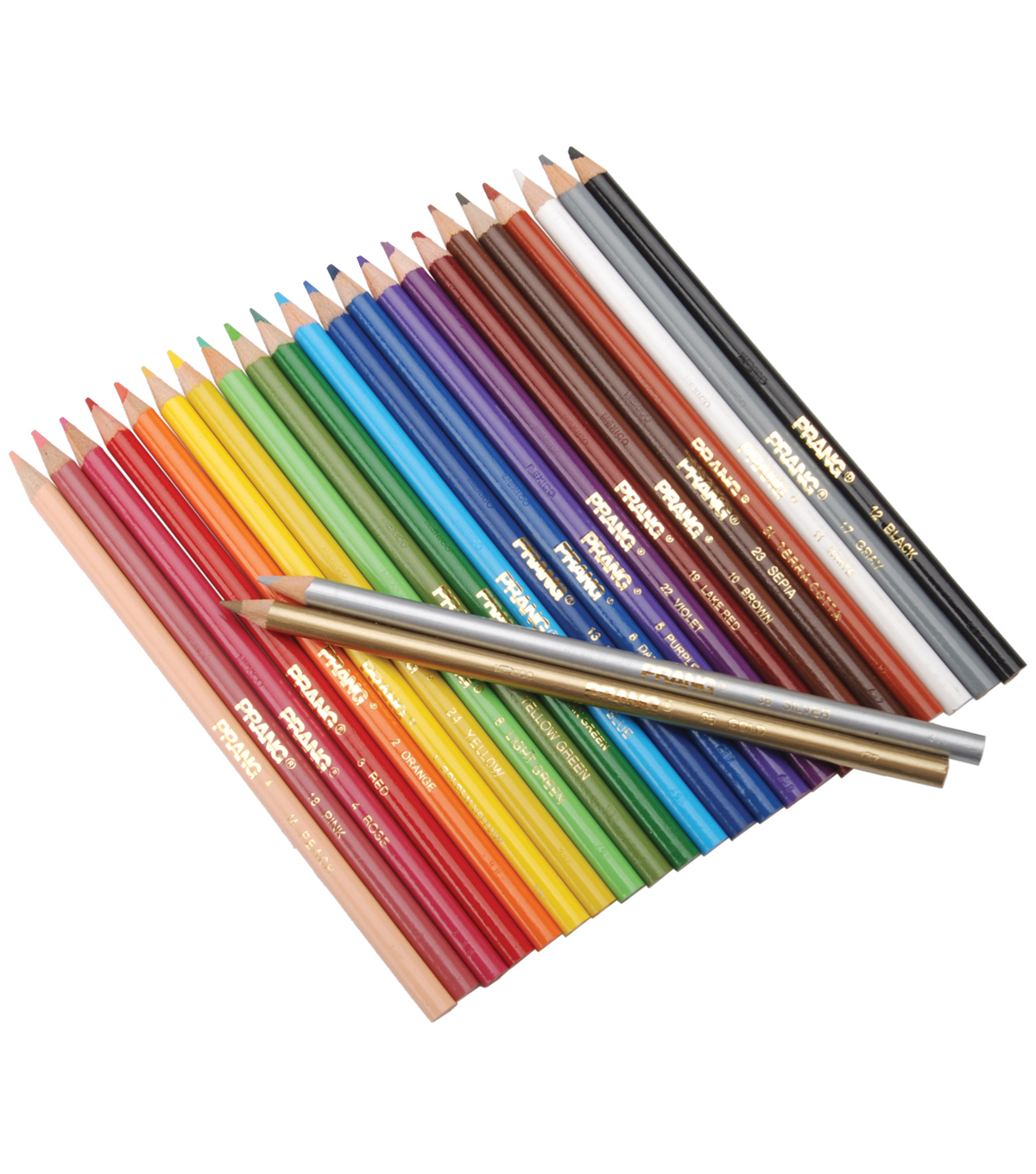 Prang Thick Core Colored Pencil Set 24Pk