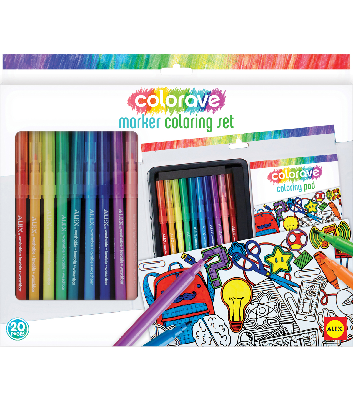 Colorave Marker Coloring Set