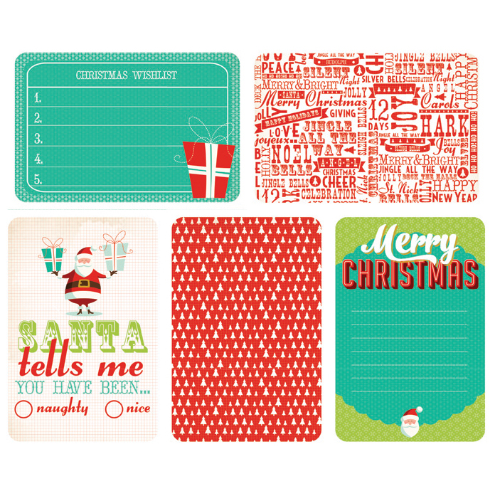 Kaisercraft Captured Moments Double-Sided Cards December 25th 6\u0022X4\u0022