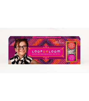 Loopdeloom Spindle Weaving Loom Kit