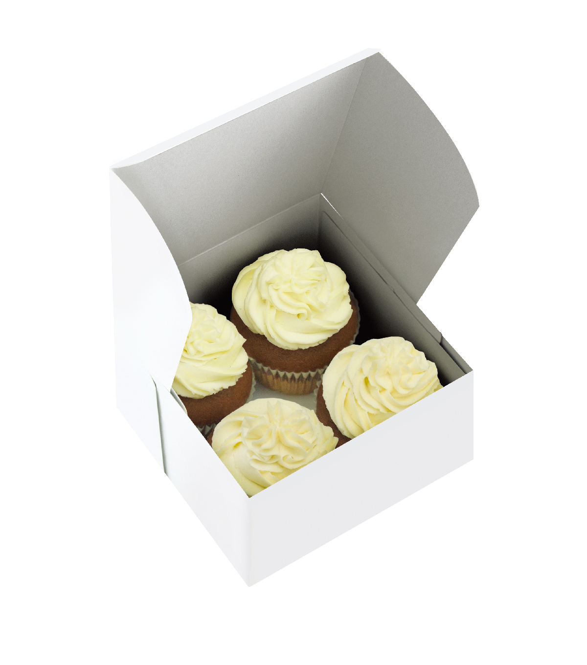 Cake Slice-Petit Four Box 5Pk