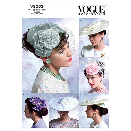 Vogue Patterns Misses Headgear-V8052
