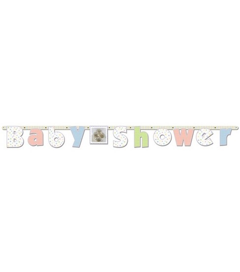"Baby Soft Moments Banner-7""x7'"
