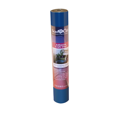 Brother ScanNCut 12\u0022x6\u0027 Adhesive Craft Vinyl Roll-Blue