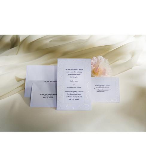 WiltonR Wedding Invitation Kit Elegant Swirls