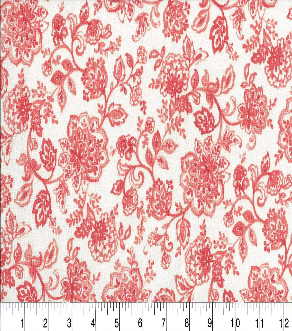 Keepsake Calico™ Cotton Fabric 44\u0022-Tonality Tangerine