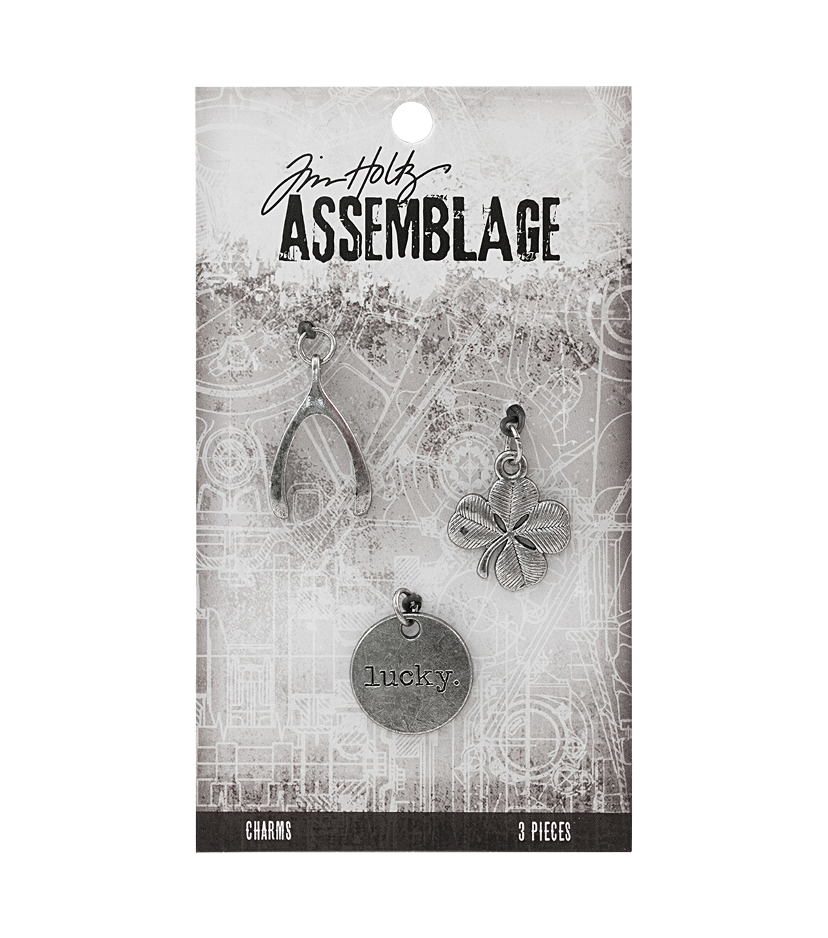 Tim Holtz® Assemblage Pack of 3 Lucky Charms