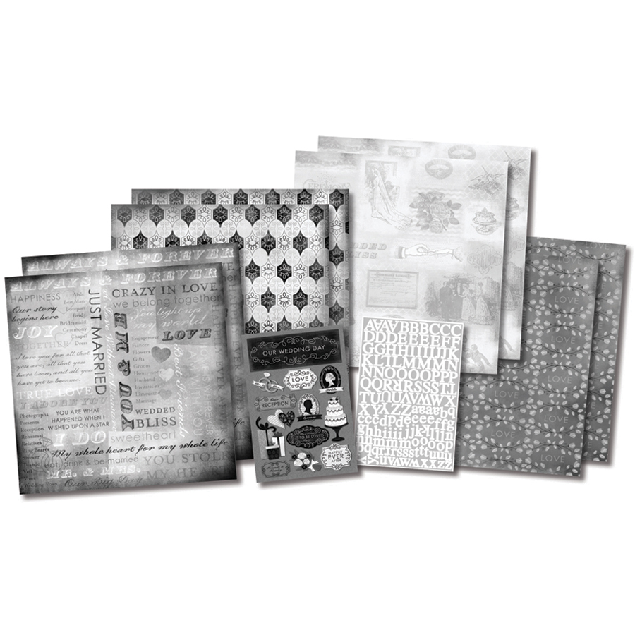 Weddg Stry-scrapbook Kit 12x12
