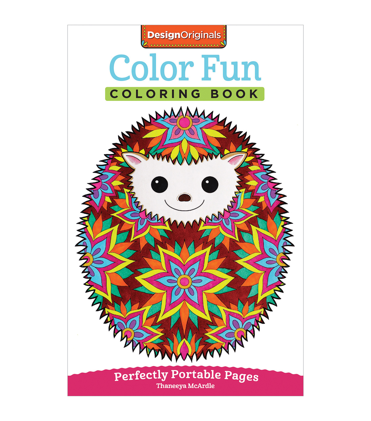 adult coloring book design originals color fun - Design Coloring Books