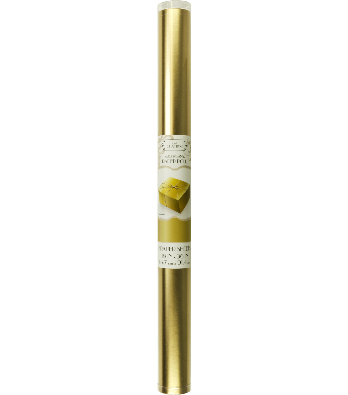 K&Company Gold Foil Paper Roll
