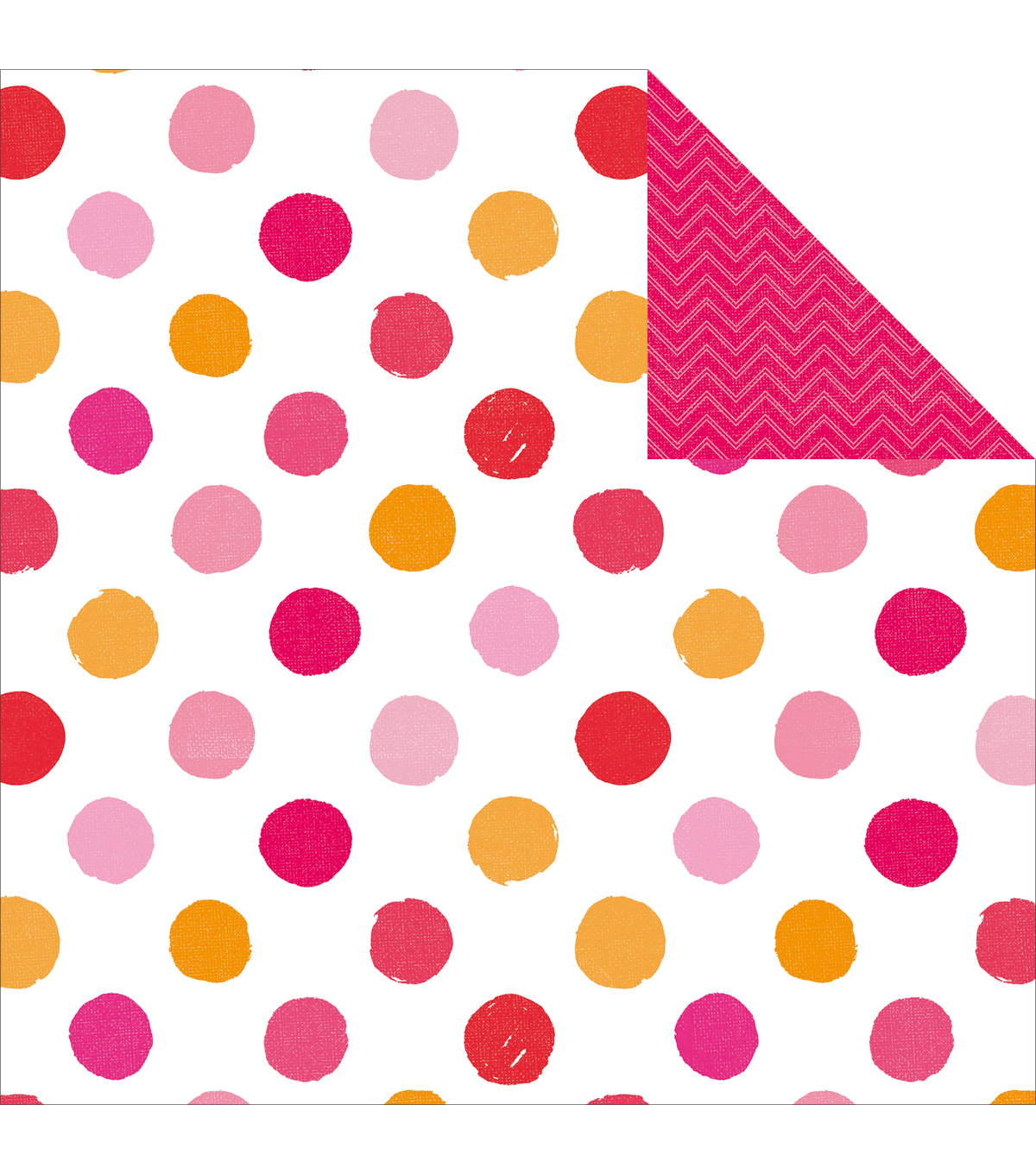 "Pop! Double-Sided Cardstock 12""X12""-Polka"