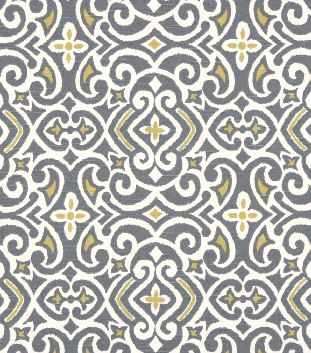 "Home Decor 8""x8"" Fabric Swatch-Robert Allen New Damask Greystone"