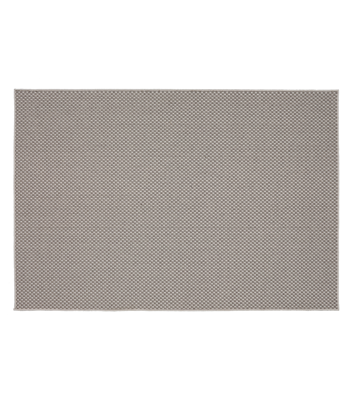 Mohawk Home Indoor & Outdoor Rug-Gray Grid Lines
