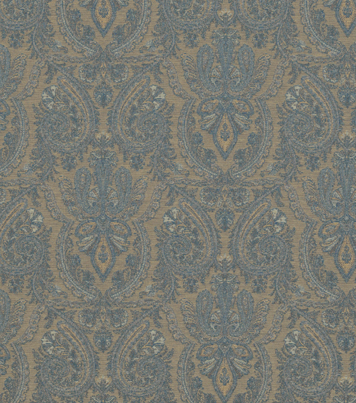 "Home Decor 8""x8"" Fabric Swatch-Kenson Noble Blue"