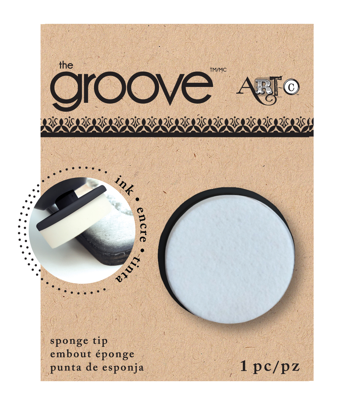 Groove Tool Replacement Tip Sponge