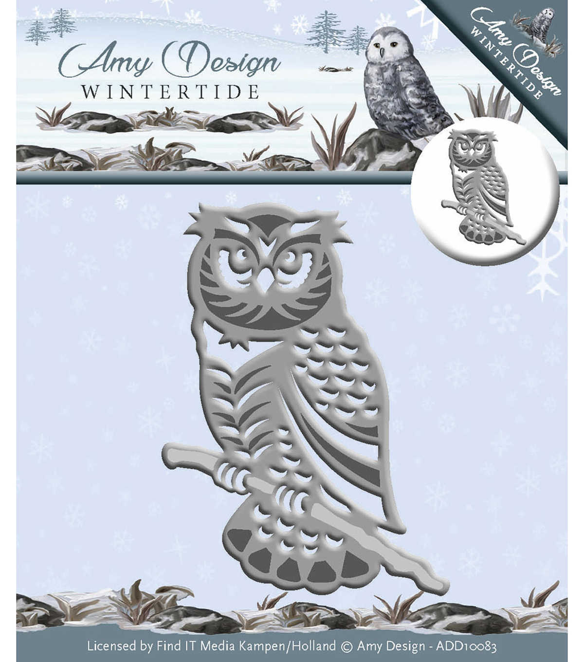 Find It Trading Amy Design Wintertide Die-Owl