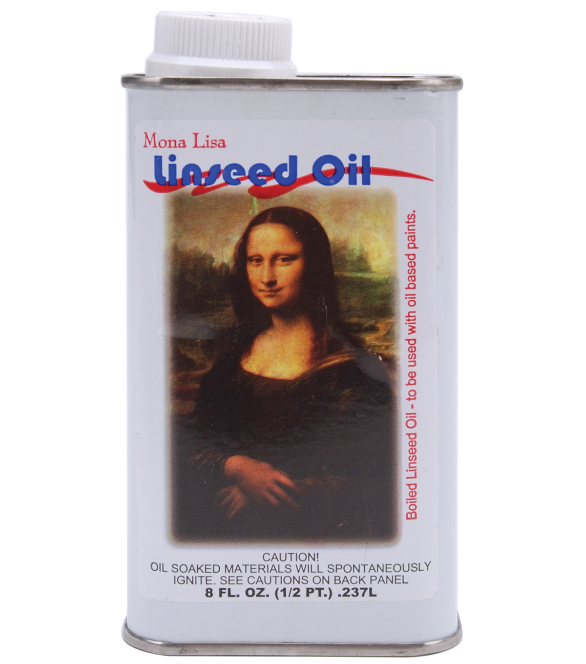 Mona Lisa Linseed Oil-8 Ounces