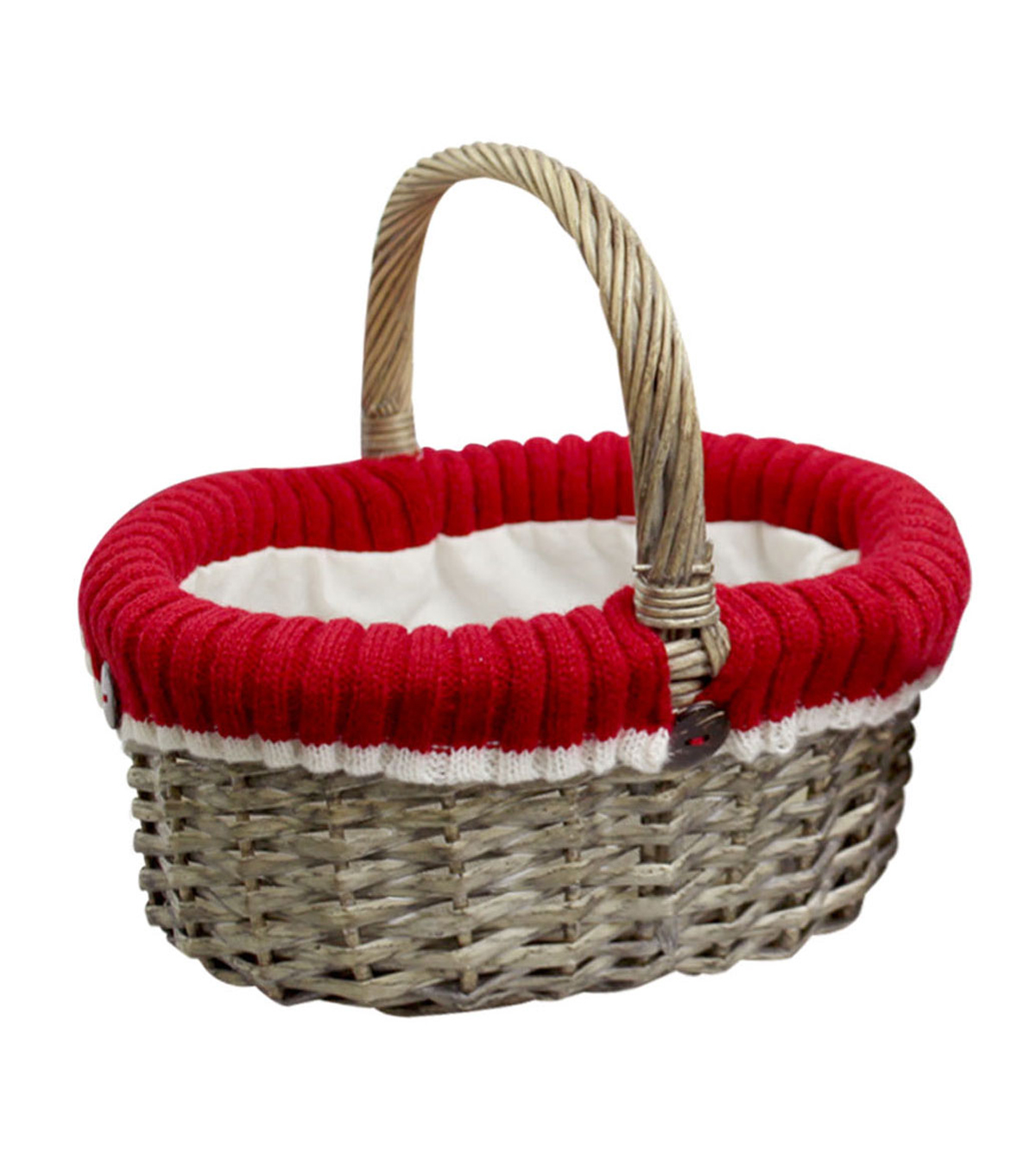Maker's Holiday Small Oval Sweater Liner Basket