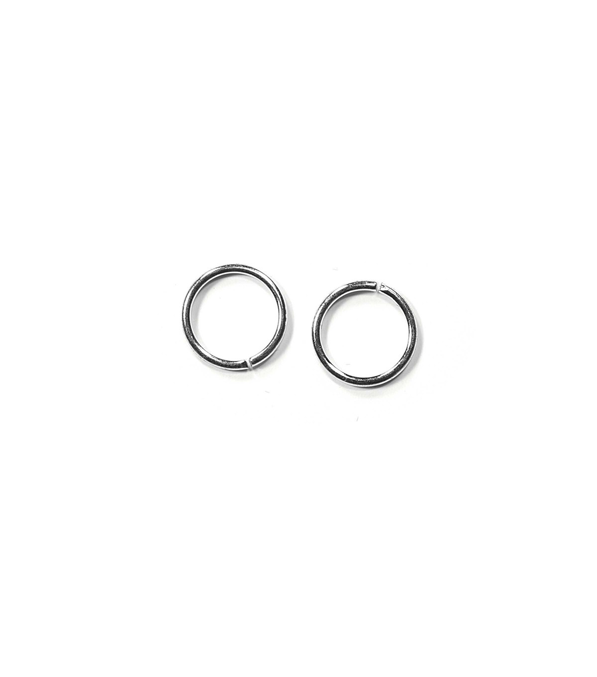 Blue Moon Findings Jump Ring Metal 10mm Silver