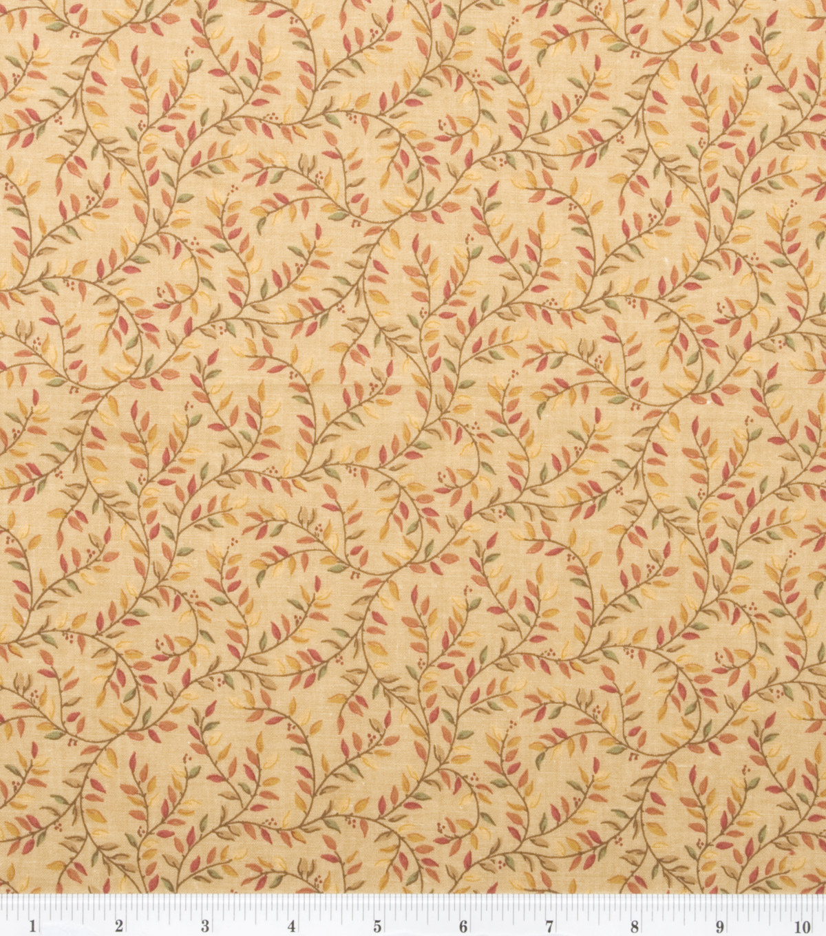 Keepsake Calico™ Cotton Fabric 43\u0022-Gold Vines