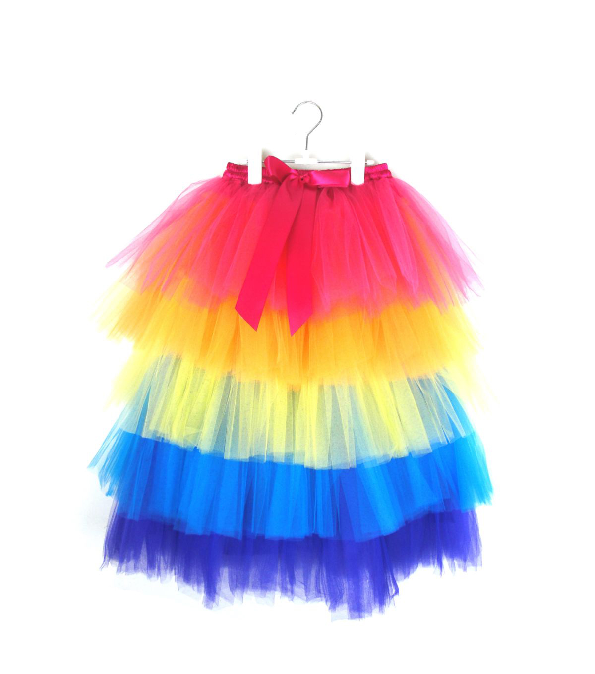 Maker's Halloween Long Children's Tutu-Rainbow