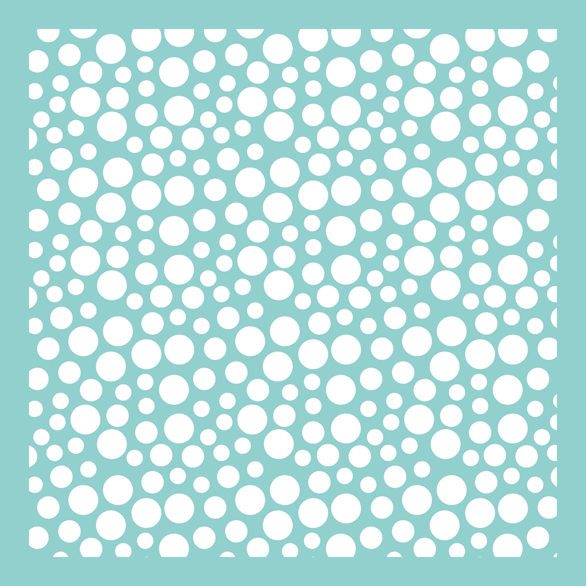 Bubbles -template 12x12