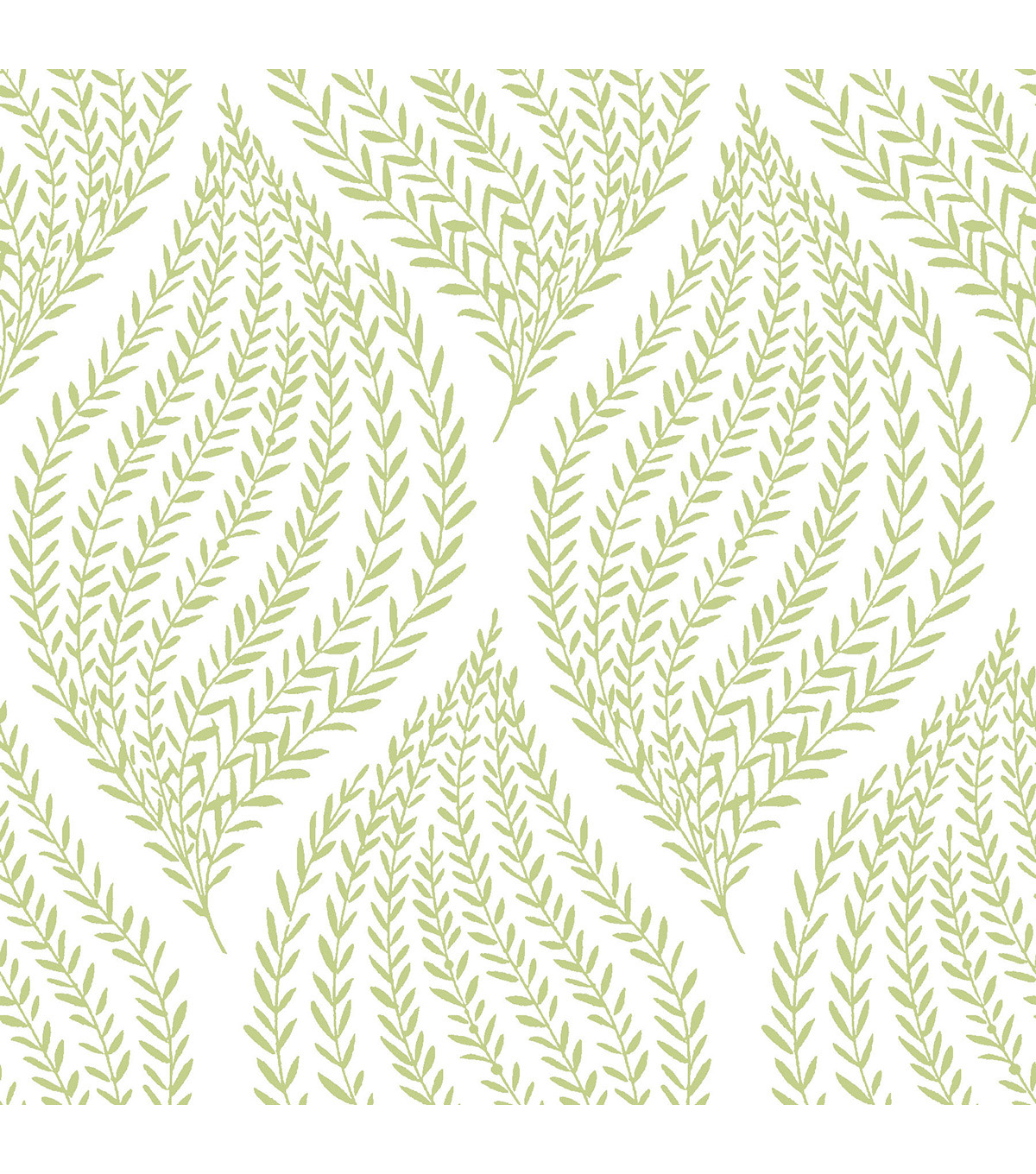 Wallpops Nuwallpaper Peel & Stick Wallpaper-Lime Green Fern