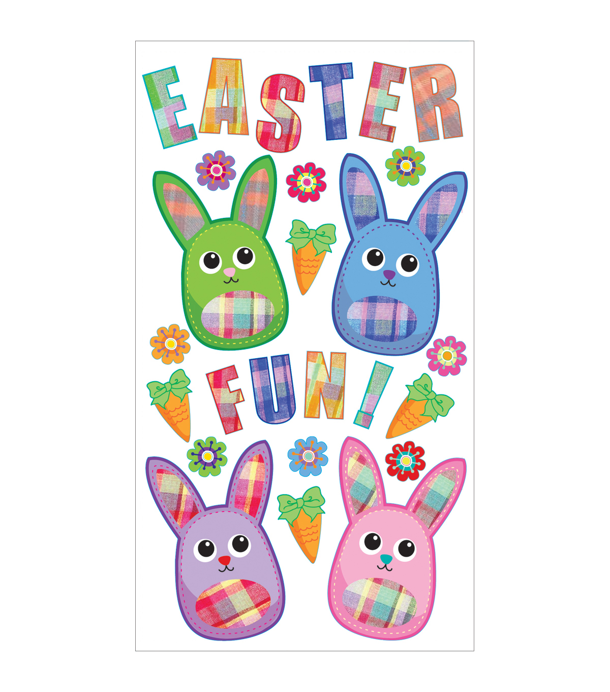 Sticko Seasonal Stickers Fabric Easter