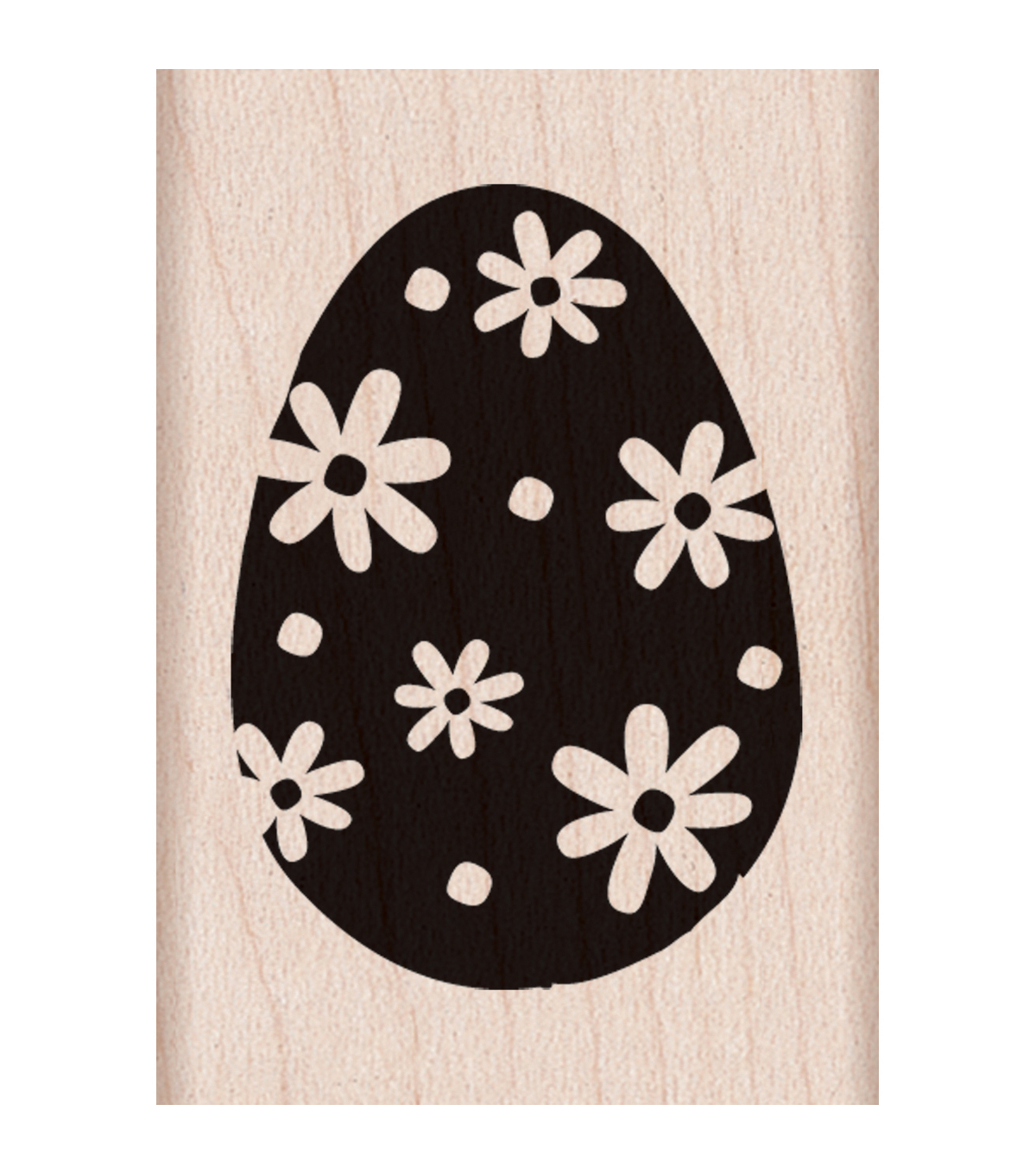 "Hero Arts Mounted Rubber Stamps 1.5""X2""-Easter Egg"