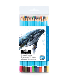 Watercolor Pencils 24/Pkg-Assorted