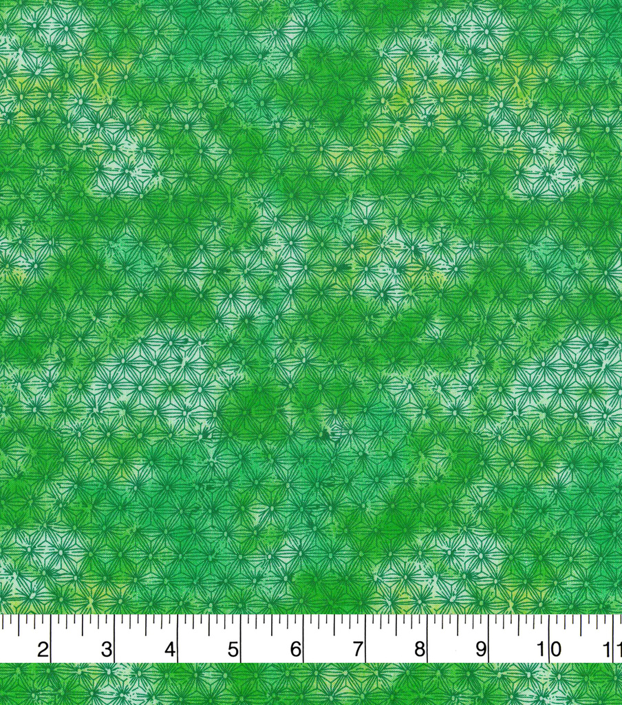 Keepsake Calico™ Cotton Fabric 43\u0022-Green Tiedye Blender