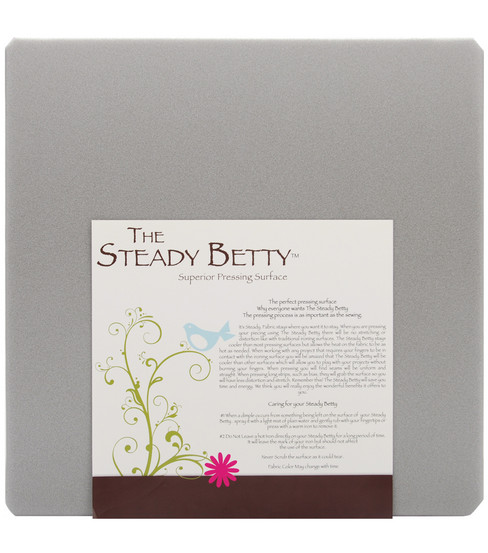 Steady Betty Pressing Surface-16\u0022X16\u0022 Gray