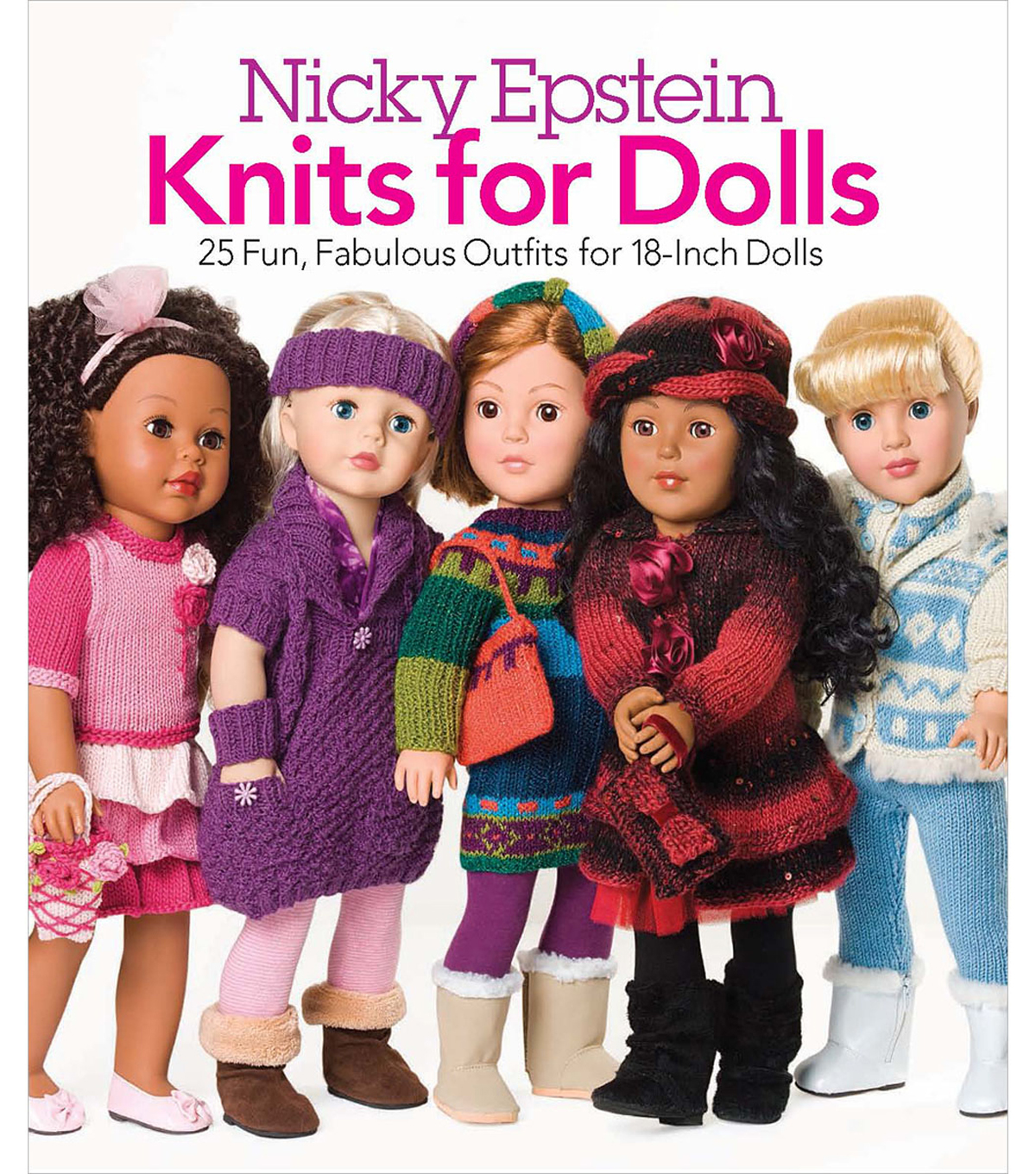 Nicky Epstein Books-Knits For Dolls